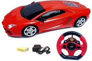 A R ENTERPRISES RC Jackman 1:18 Lamborghini Style Racing Rechargeable Car With Remote Control Steering