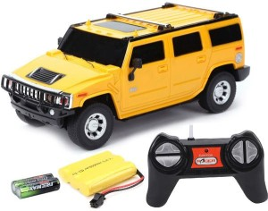 Cuddles Collections Rc Rechargeble Toy Car H2 Suv