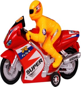 Kanchan Toys Remote Control Bike Yellow Best Price In India