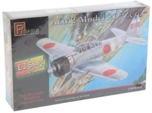 Pegasus Hobby A6M2 Model 21 Zero Fighter (Snap Kit) 1-48 PegasusMulticolor62