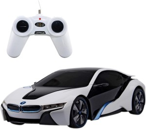 Saffire Bmw I8 Concept 1 24 Remote Control Sports Car White Best