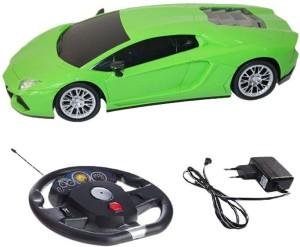 A R ENTERPRISES Rechargeable Gravity Sensor Lamborghini Car With Steering