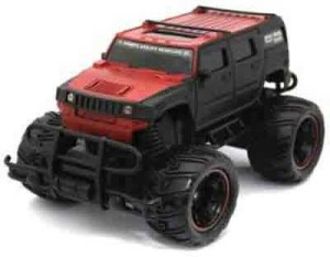 24a2f92579ab ODDEVEN Mad Racing Cross- Country Remote Control Monster Truck Car Hummer  red