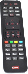 Airtel Remote Controller Radhikacomnet Airtel DTH Compatible Remote Controller Primium + AAAAA Battery Remote Controller