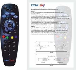 TATASKY Remote Controller Radhikacomnet Tata Sky Original Universal Remote Remote Controller