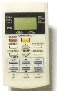 AElec. Compatible Panasonic AC Remote Controller