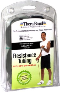 Thera-Band Professional with Soft Grip Handles Resistance Tube