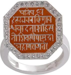 9d6b57b52f741 Vighnaharta Chhatrapati Shivaji Maharaj Rajmudra Rose Gold Alloy ...