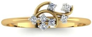 Astrum Diamonds The Dazzling Shower 18kt Diamond Yellow Gold ring