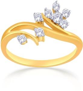 56a541135907d Malabar Gold and Diamonds R54966 18kt Diamond Yellow Gold ring