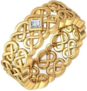 BlueStone The Niamh for Her 18kt Diamond Yellow Gold ring