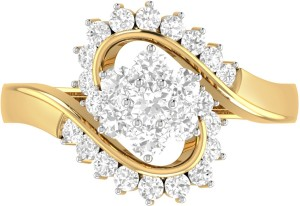 453f7207c26dd WearYourShine by PC Jewellers The Kelby 18kt Diamond Yellow Gold ring
