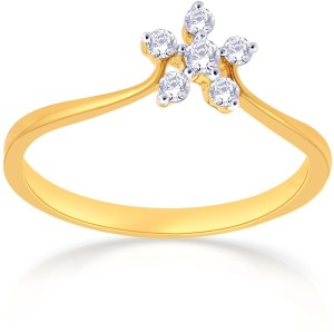 df4b5b7828136 Malabar Gold and Diamonds R651079 18kt Diamond Yellow Gold ring