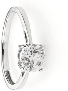 e3705066b6e14 11 Astro Gems Italian Silver Moissanite Platinum Plated Ring