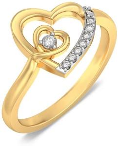 BlueStone The Lovers Hearts s 14kt Diamond Yellow Gold ring