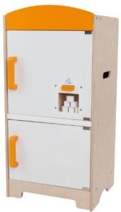 Wooden Play Kitchen Sets | Hape Playfully Delicious Gourmet Fridge Wooden Play Kitchen Set Best