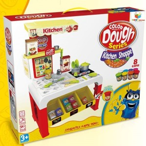 Toys Bhoomi Super Fun Kitchen Color Play Dough Set With Light Music