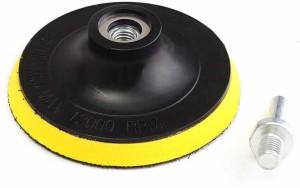 DIY Crafts Sanding Disc Sandpaper Hook Loop+ Backer Pad with Drill Adapter  New Backing Pad Hook & Loop Pad Rotary Bit Set1 Bits