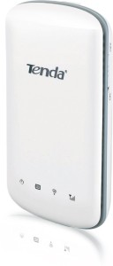 Tenda 3G186R 150 Mbps Wireless Nn150 Travel Router for WCDMA Network Router