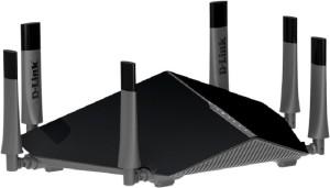 D-Link DIR-890L Ultra AC3200 Tri-Band Gigabit Wi-Fi Router Black Router