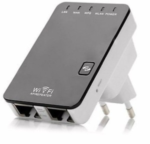 Axcess EU Plug 300Mbps 2.4GHz 802.11 Wireless-N Mini WiFi Router AP Repeater Router