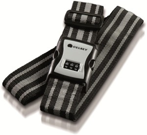 Delsey Luggage Strap 3-Digit Combination Luggage Strap