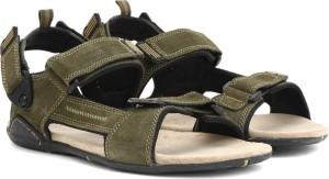 ef083391c9c Woodland Men OLIVE GREEN Sports Sandals Best Price in India ...