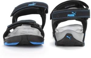 Puma Men Puma Black Blue Atoll Sports Sandals Best Price in India ... 944b8394bf5a