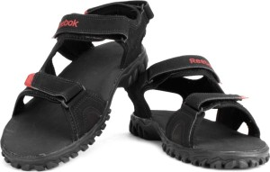 ea0189b479f2 Reebok Men BLACK RED RUSH EARTH Sports Sandals Best Price in India ...