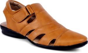 e84df9997658 Peponi Men Tan Sandals Best Price in India