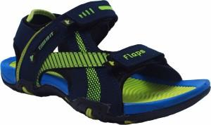 ebe3cf46baeb9 Flaps Men Blue Sandals Best Price in India