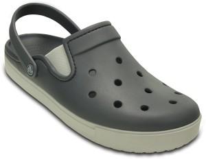3eebe2da75f0 Crocs Men Charcoal Pearl White Sandals Best Price in India