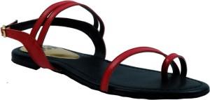 Triveni Women Red Flats