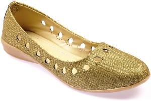c18655749300 La Boemo Women Gold Bellies Best Price in India