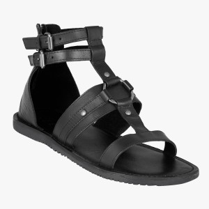 7831f41421d9 ESTD 1977 Men Black Sandals Best Price in India