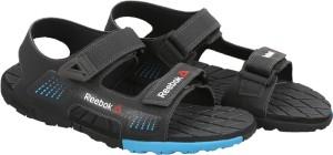8c437a478e35 Reebok Men COAL BLUE GRAVEL BLACK Sports Sandals Best Price in India ...