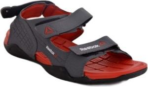 53ddc9750d56 Reebok Men ASH GREY RIOT RED BLK Sports Sandals Best Price in India ...