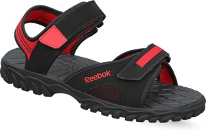 47a0f18eecca Reebok Men BLK RED RUSH Sports Sandals Best Price in India