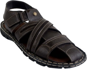 4f44ed3a3 Shoegaro Men Brown Sandals Best Price in India