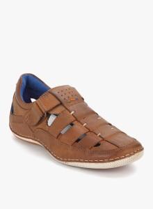 717200675168 Buckaroo Men Tan Sandals Best Price in India