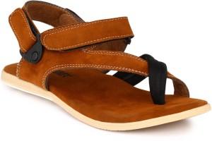 01d20980d320 Afrojack Men Brown Sandals Best Price in India