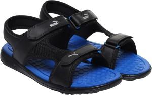 Puma Men Puma Black Puma Royal Sports Sandals Best Price in India ... 25204b9e3cdc