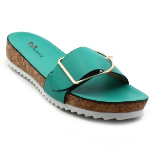 773dc8bd544ad5 Shuberry Women Green Wedges Best Price in India