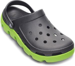 0a94466c644e5 Crocs Men Graphite Volt Green Sandals Best Price in India