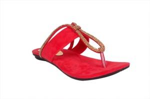 Studio 9 Women Red Flats