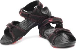 Puma Men Puma Black High Risk Red Sports Sandals Best Price in India ... 760c91a21d76