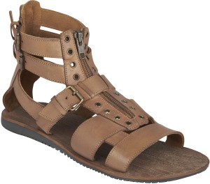 0eb2b05e3f29 ESTD 1977 Men Tan Sandals Best Price in India