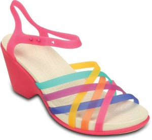b8b5cbed553c Crocs Women Multi Candy Pink Wedges Best Price in India