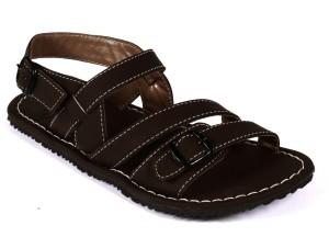 26c325d4c54045 Guardian Shoes Men Brown Sandals Best Price in India