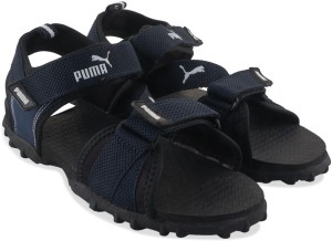 Puma Men black blue Sports Sandals Best Price in India  b210e1d94551
